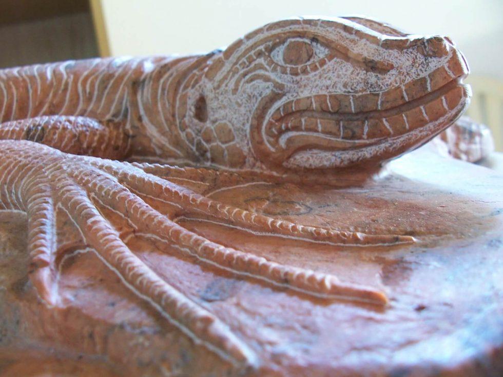 Iguana di marmo 2