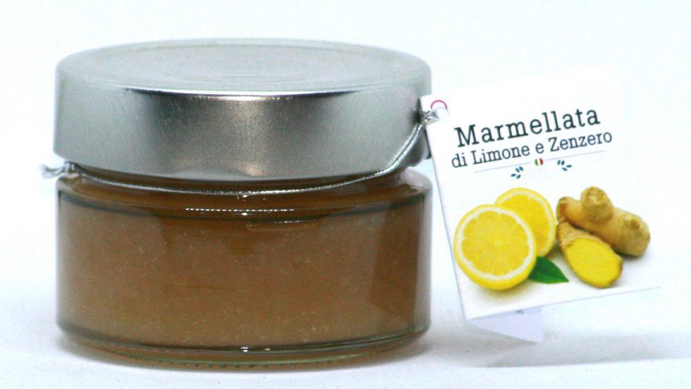 Marmellata di Limone e Zenzero 106g