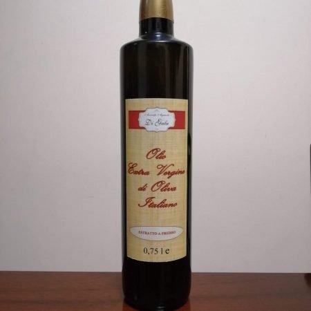 olio di oliva extravergine 0,75