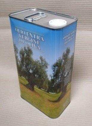 olio extra vergine d'oliva 5L